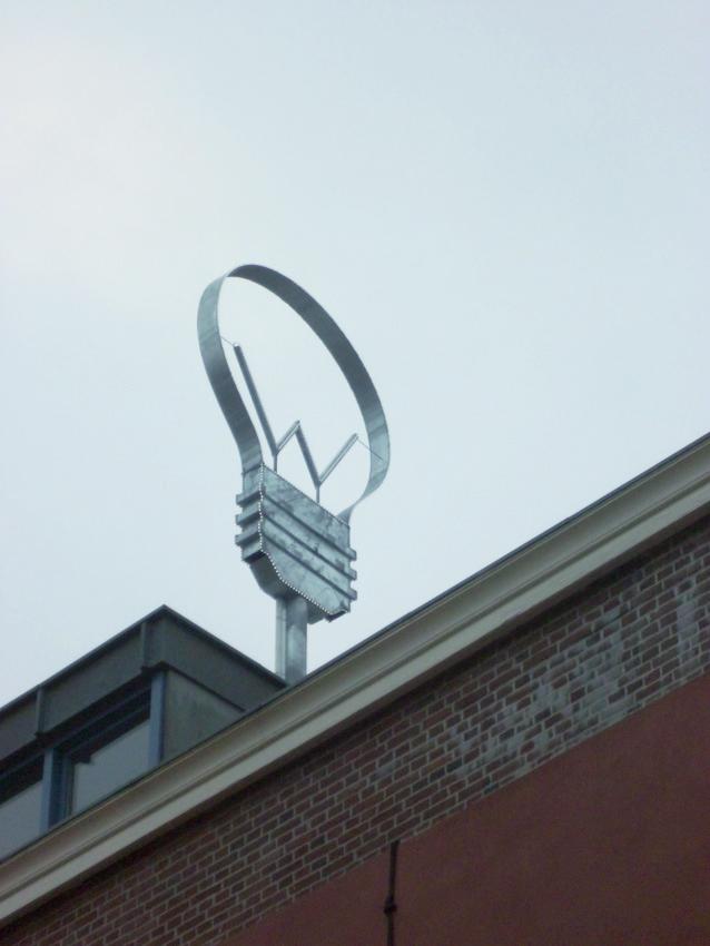 Gloei-lamp-zijaanzicht